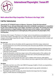Microsoft Word - Call for Submissions IPF